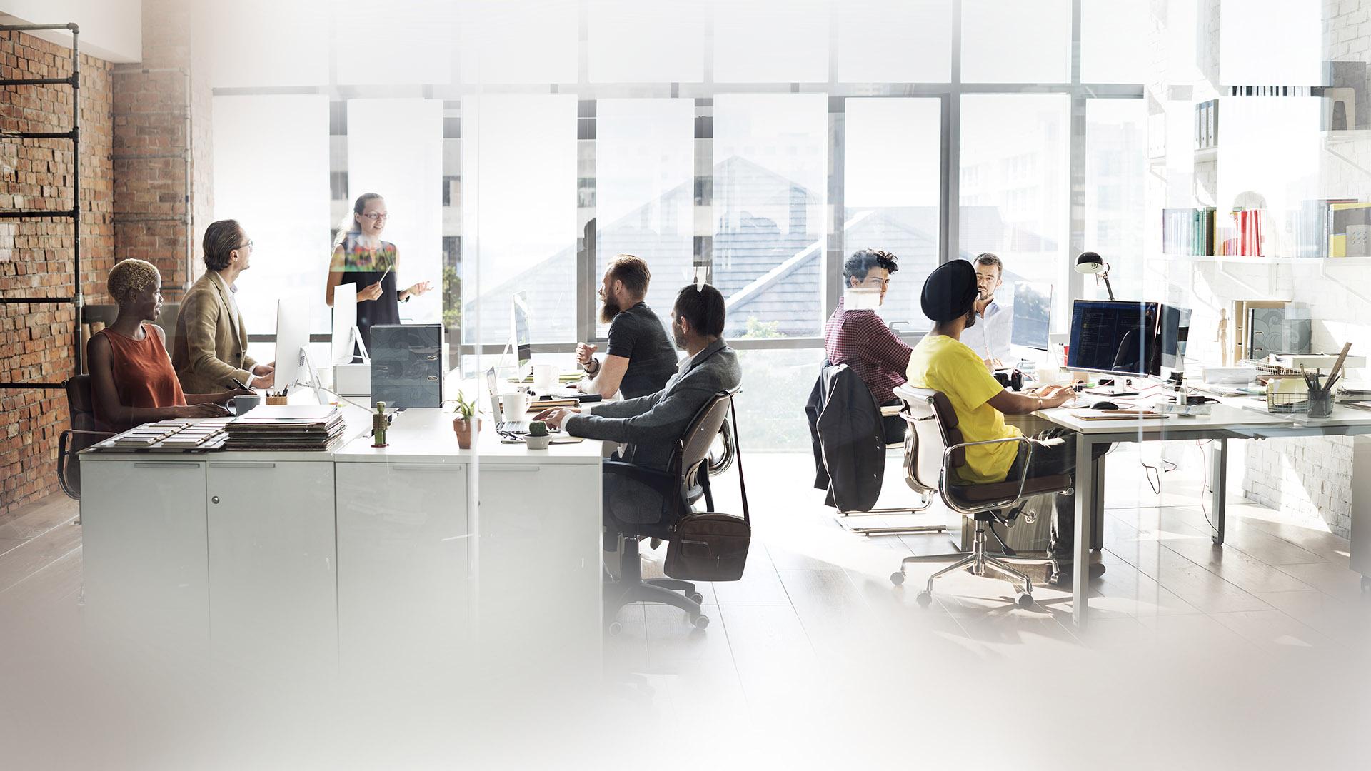 El coworking en el modelo híbrido, opción para casi el 50% de las empresas